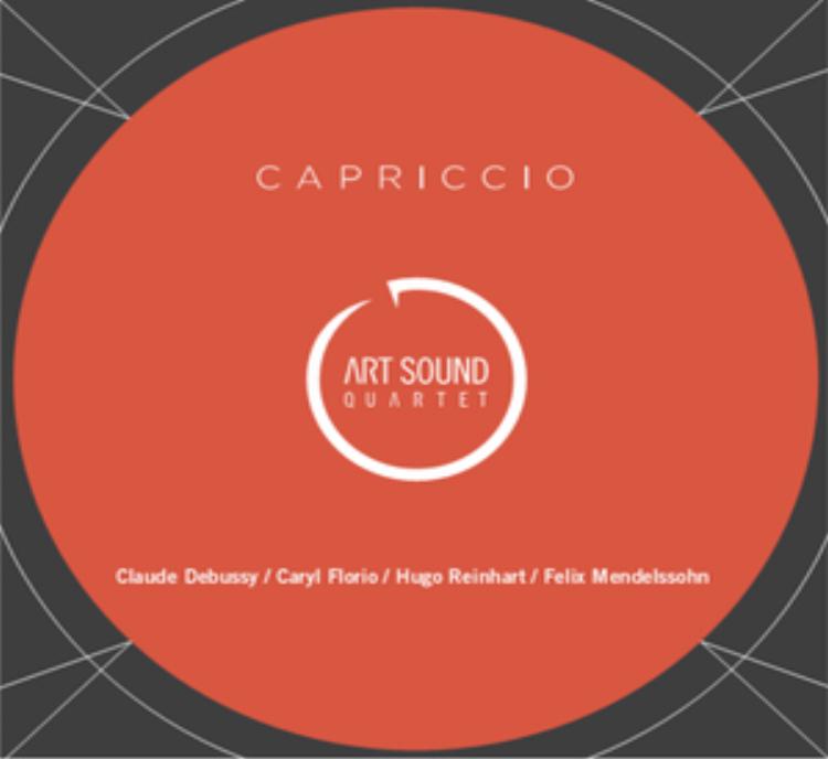 CAPRICCIO Art Sound Quartet 2012 Works by Reinhardt, Florio, Mendelssohn and Debussy
