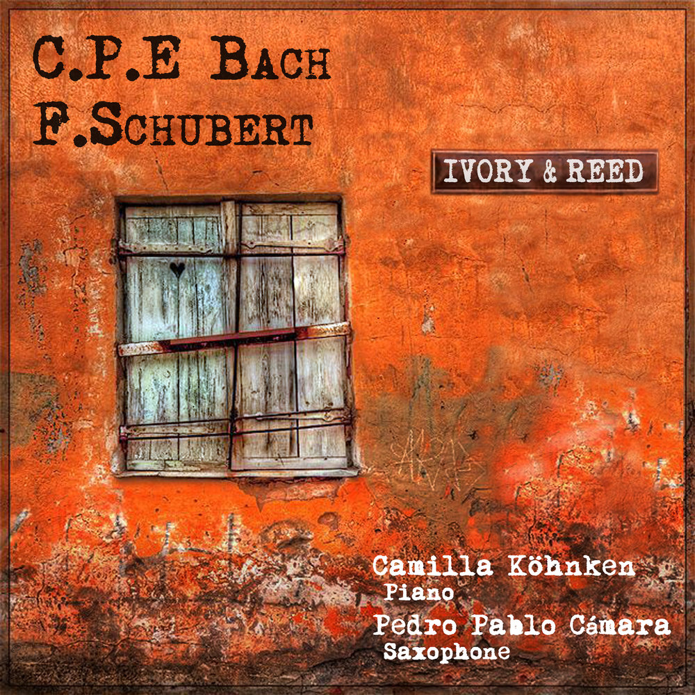F. SCHUBERT: INTRODUCTION AND VARIATIONS - C.P.E. BACH: SONATA IN B MINOR WQ.76  IVORY&REED 2017