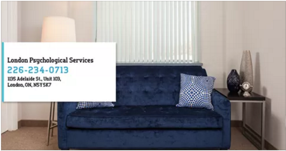 therapy couch on website