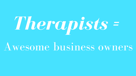 therapists as business owners