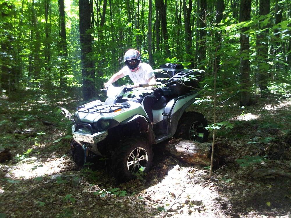 First ATV ride... ever