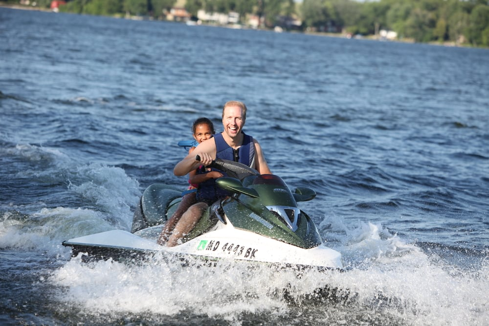 Sea Doo on Chemong Lake