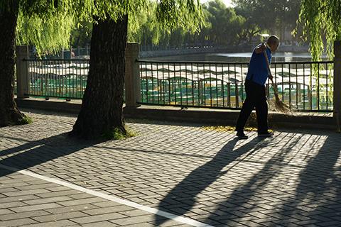 Beihai park (北海公园), Beijing, China