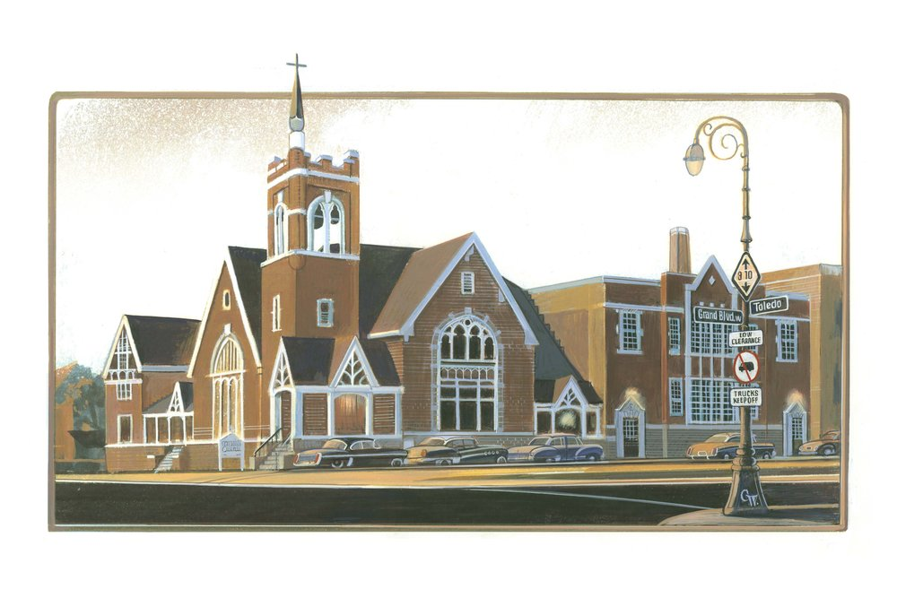 Messiah Lutheran, Detroit