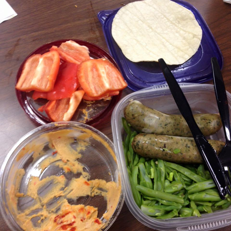 I failed to have breakfast and lunches ready for the week. Results? I had to eat a hodge podge of leftover and random foods. What am I doing to make next week better? I have steel cut oatmeal on the stove right now as I type. I am prepping a big batch for the whole week. I also have two cookie sheets of broccoli roasting in the oven. Being prepared isn't half the game. It IS the game.