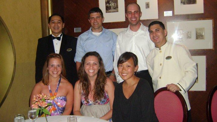 Schaumburg High School acquaintances on a cruise in 2010