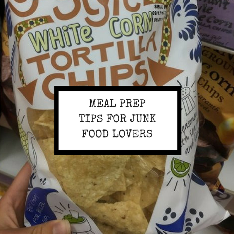 Meal Prep Tips for Junk Food Lovers