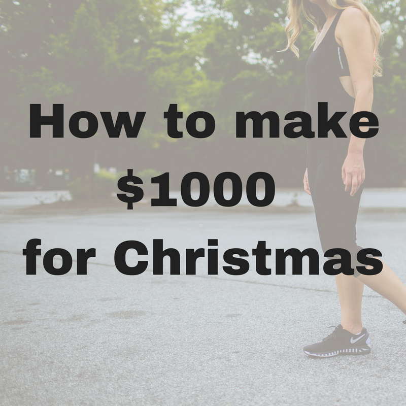 Copy of money for christmas