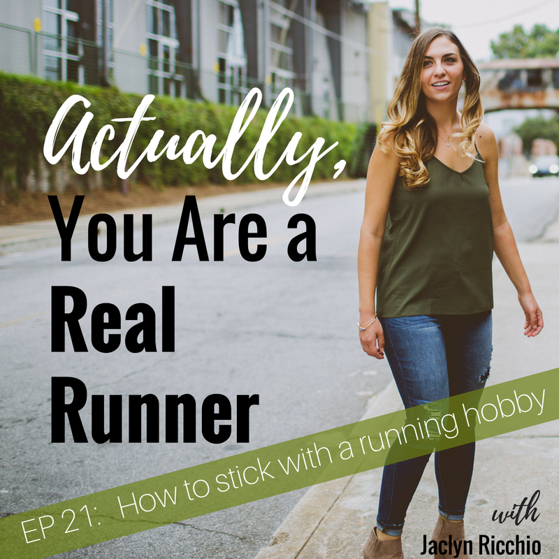 Ep 21: 3 Steps to Sticking With a Running Hobby -