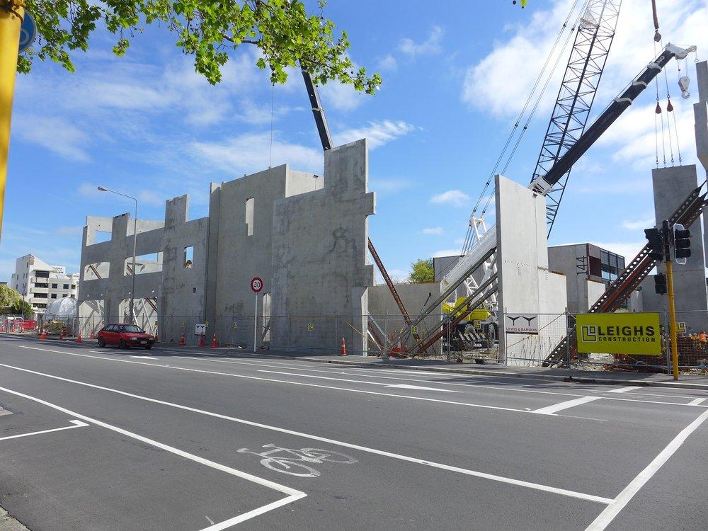 The Christchurch International Rental Car Precinct