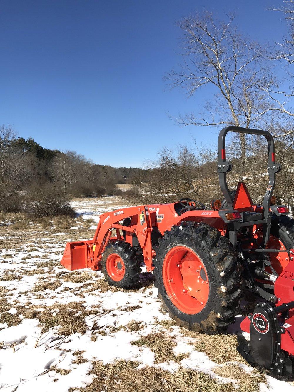 New Kubota Tractor