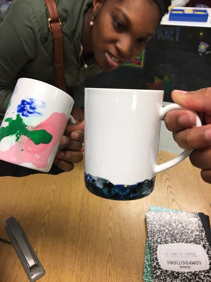 Nail Polish Ceramics