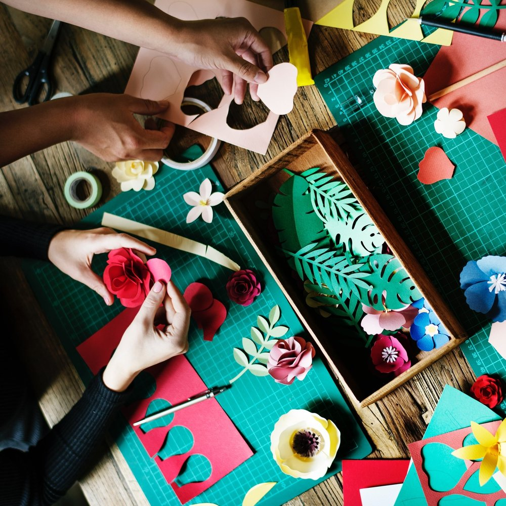 Make Christmas crafts! -
