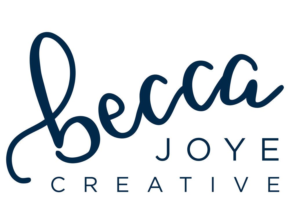 Becca Joye Creative Logo