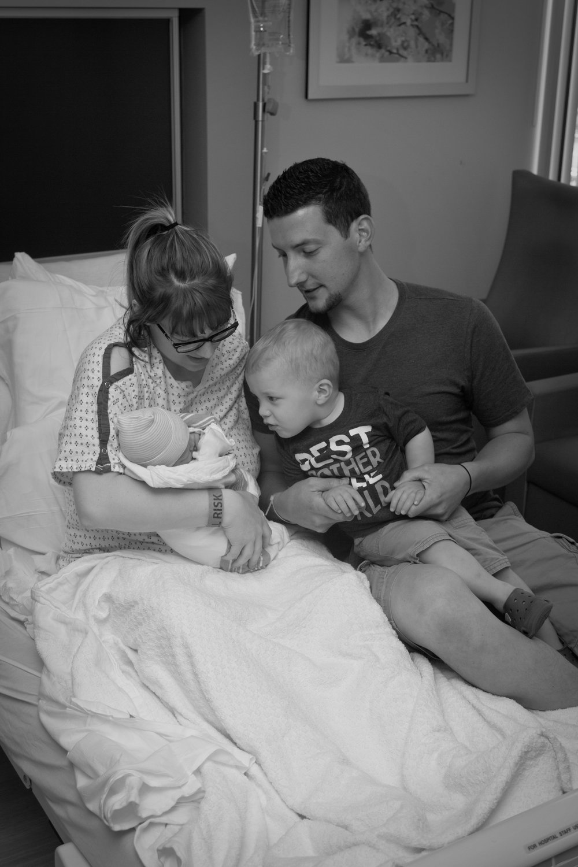 Sweet newborn Bentley baby, still in the hospital!