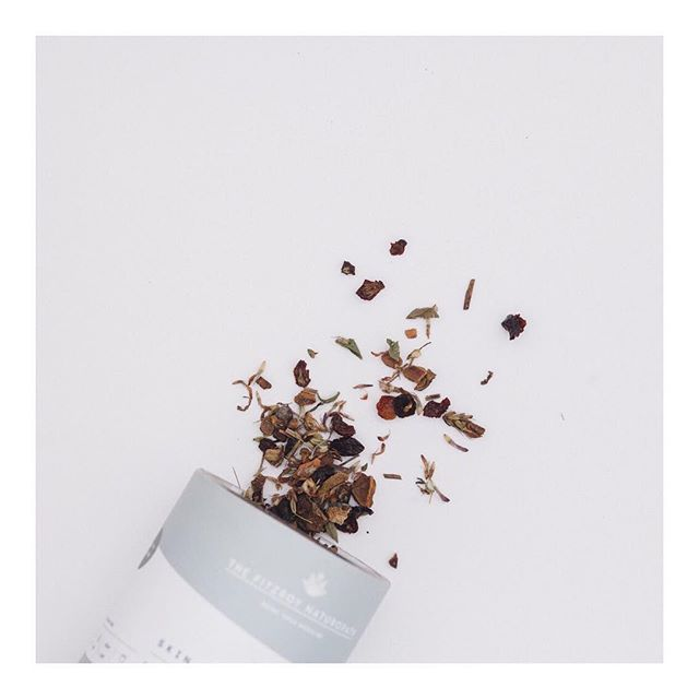 Have you begun your health journey with our therapeutic herbal teas yet? . . Each one is designed for individual health concerns with potent plant medicine xx . . This is our Skin Radiance, available online & in stores xx . . #madeinfitzroy #naturopath #herbaltea #melbournetea #loveherbaltea