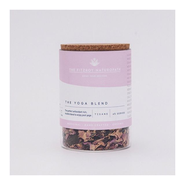 This blend has so much intention & purpose. The Yoga Blend. Made up of White Tea & Rose Petals x . . #yogamelbourne #yogaeveryday #fitzroyyoga #fitzroynaturopath