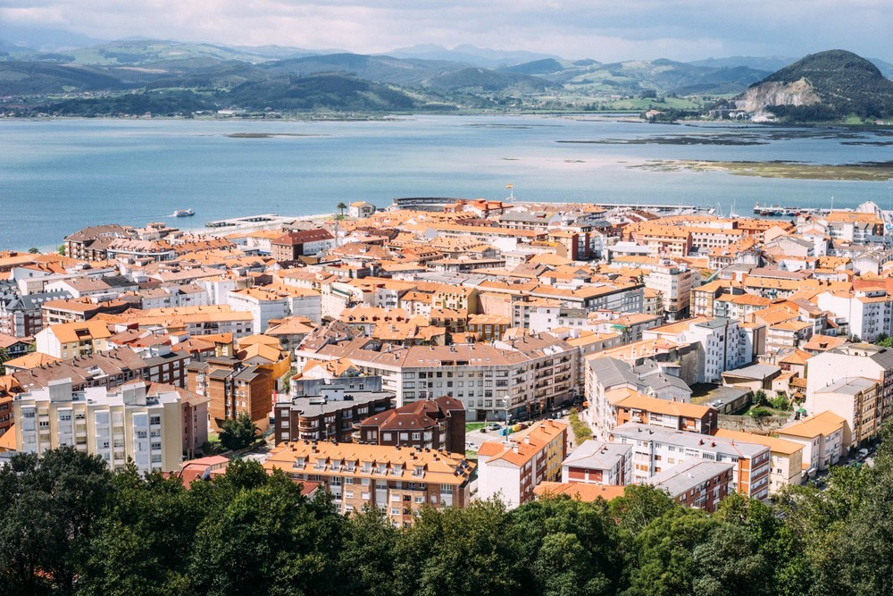 Santoña from above.