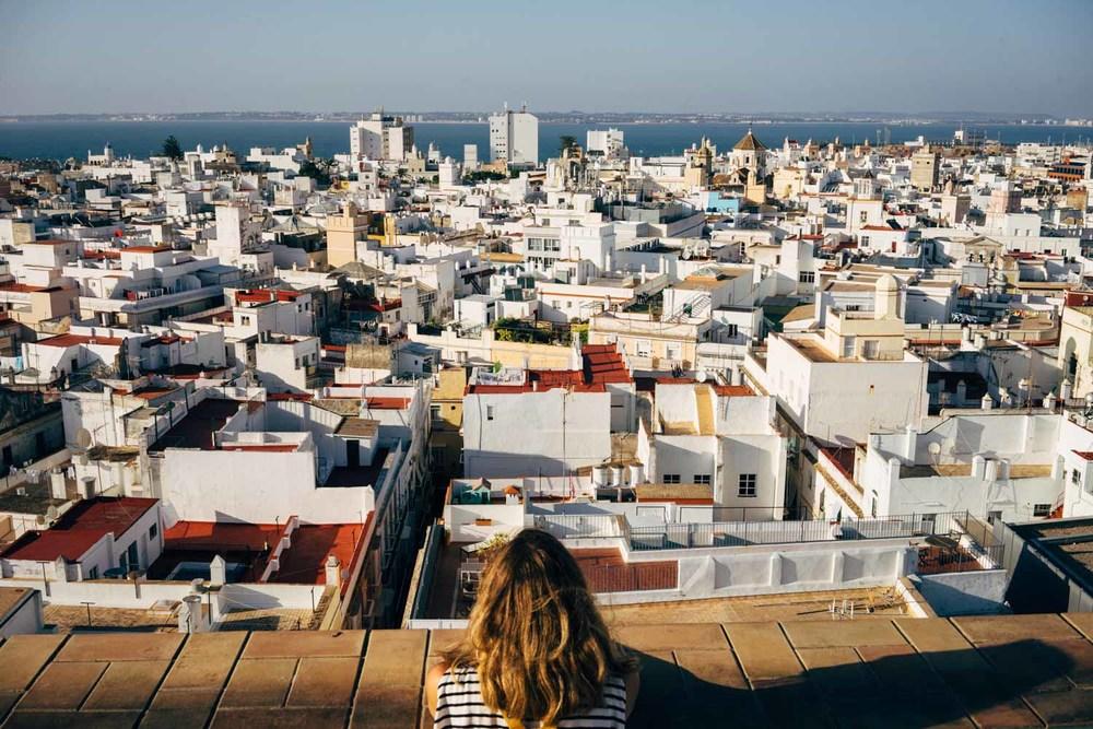 View from Torre Tavira.