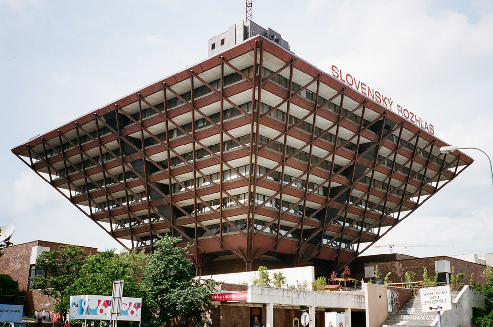 Slovak Radio Building.