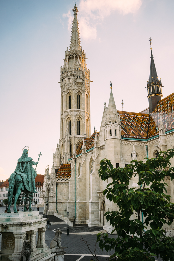 Matthias Church from Fisherman's Bastion.