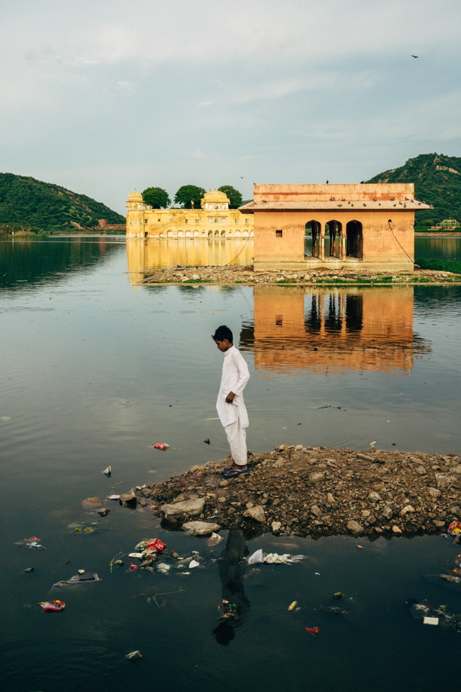 View of the Jal Mahal.