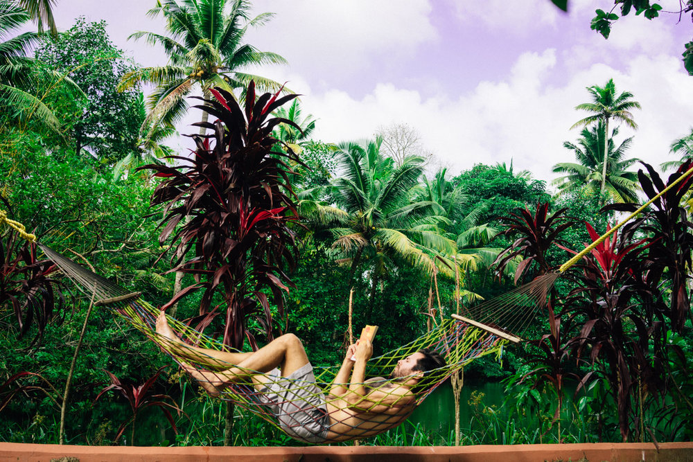 Tough life in the backwaters.