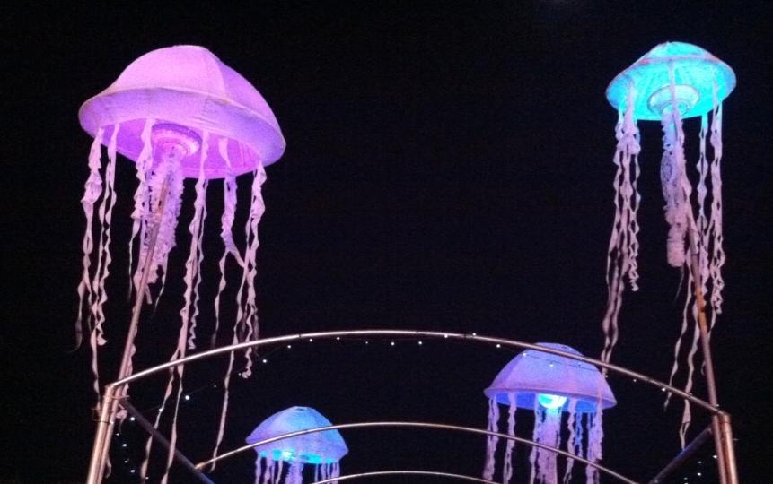 Jellyfish Totems