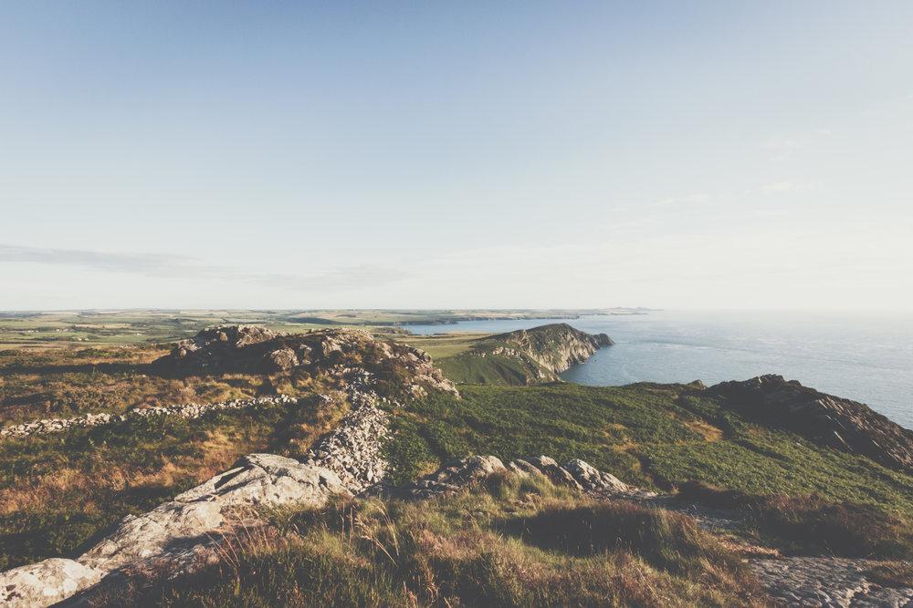 Walking in Wales.