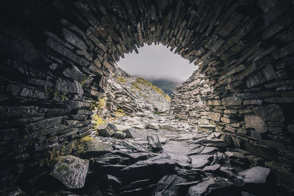 Coniston Slate Mine. UK