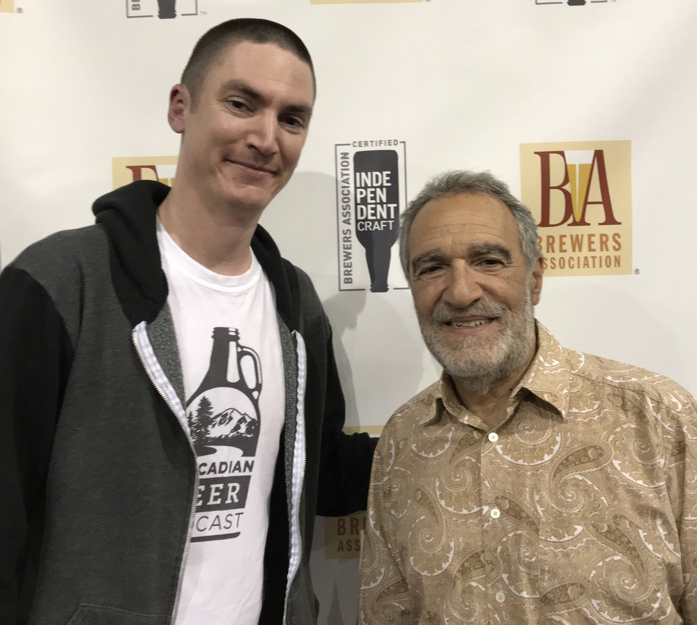 Me with Charlie Papazian