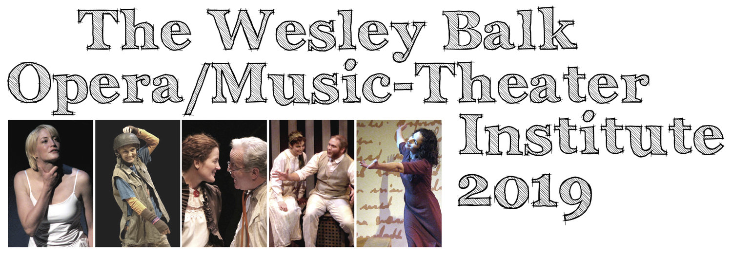 Wesley Balk Opera/Music-Theater Institute