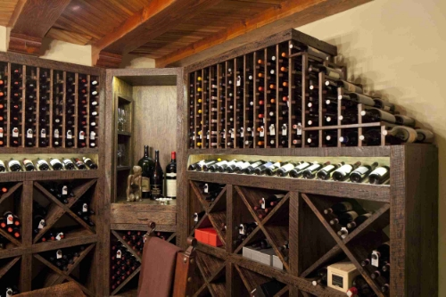 Wine Cellar Room Racking
