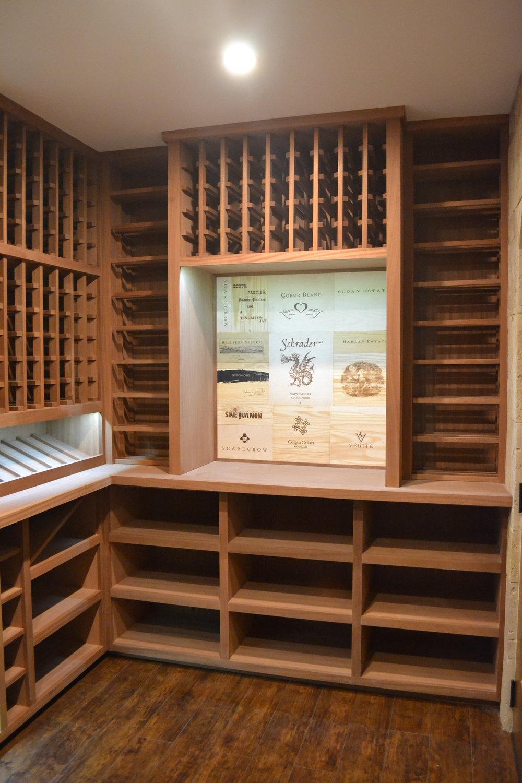 Wine Cellar Room Storage Racking Lake Forest