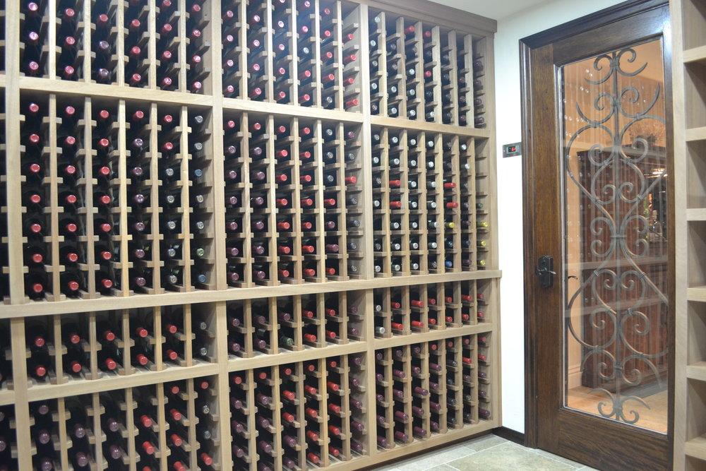 Wine Cellar Room Storage Racking San Diego