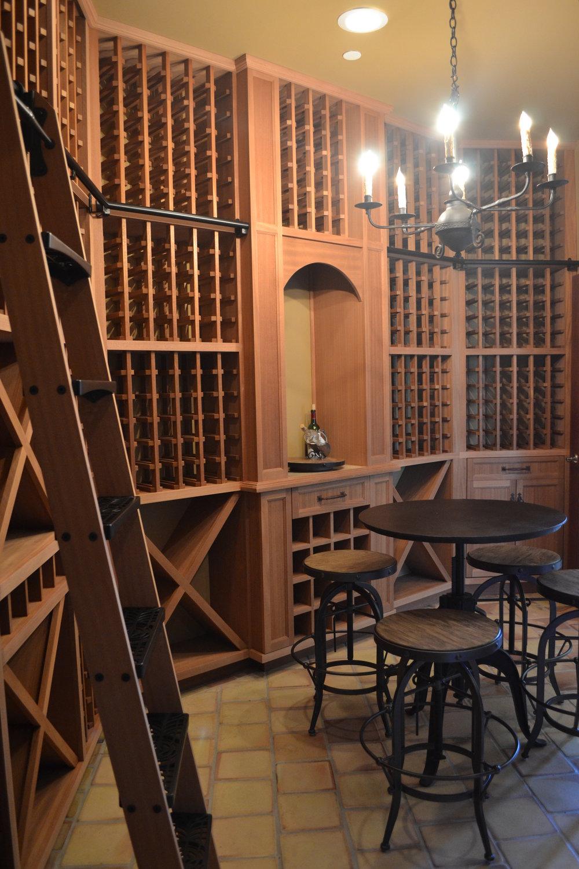 Wine Cellar Room Storage Racking Dana Point