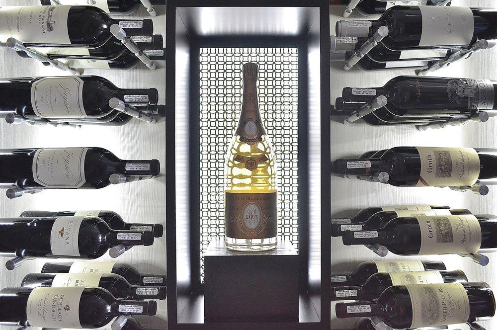 Wine Cellar Contemporary Racking San Diego