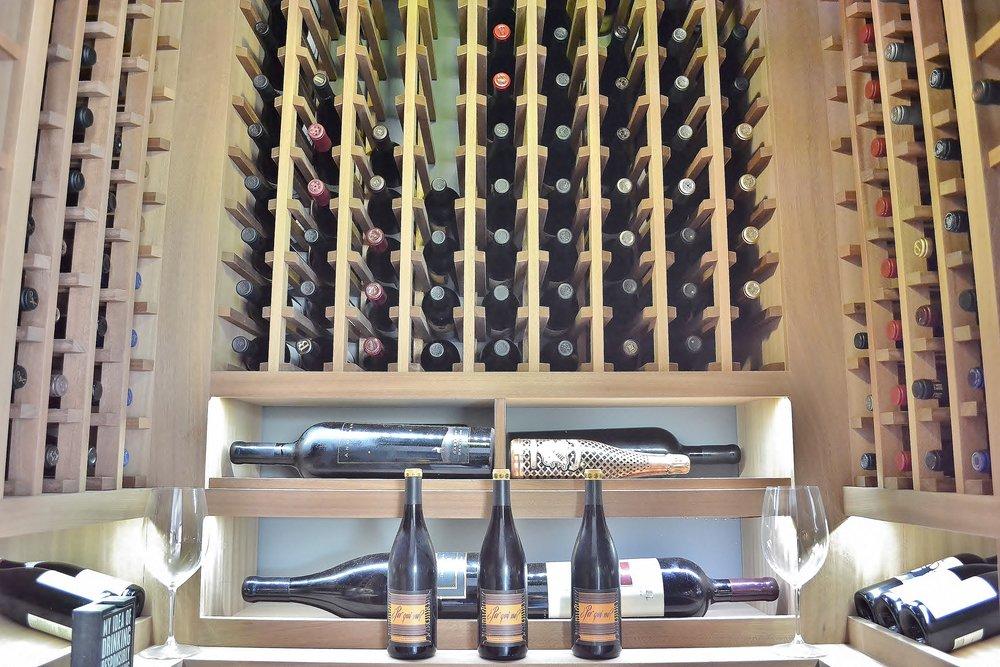 San Diego wine cellar racking