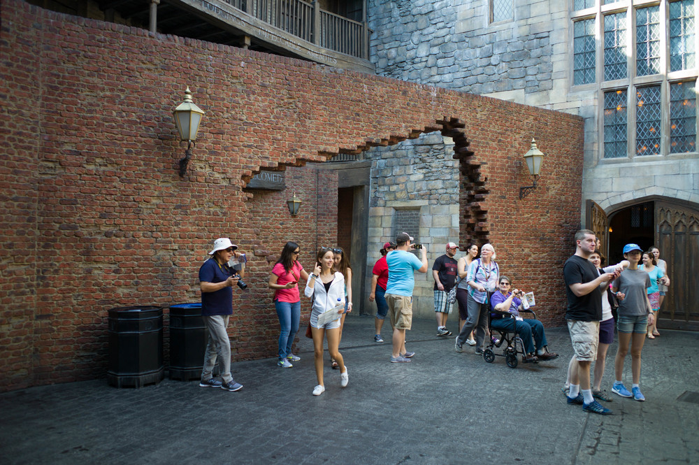 Diagon Alley Entrance