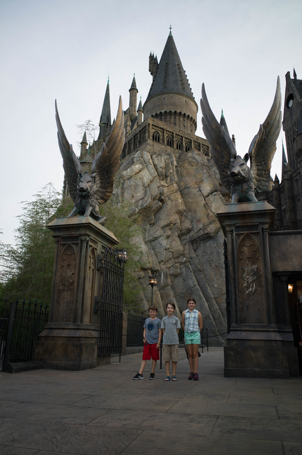 Hogwarts Castle Entrance