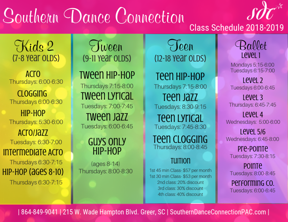 Greer Dance Studio Classes