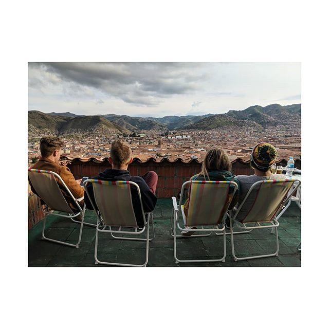 Takin' in the view. #cusco