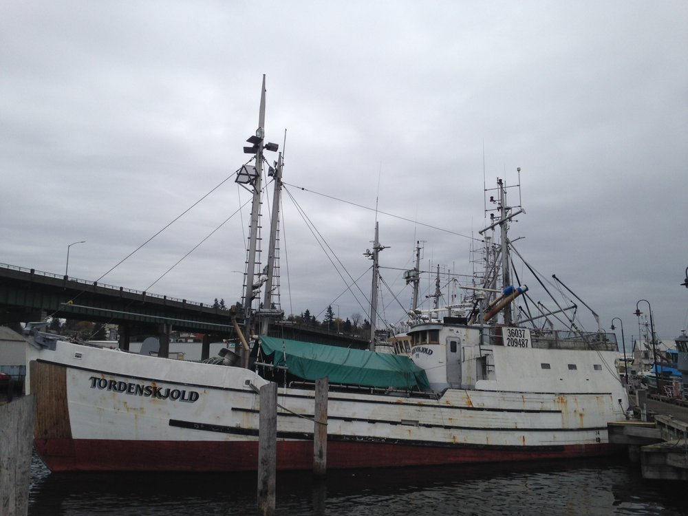The Tordenskjold at Fishermen's Terminal. Photo by Anjuli Grantham.