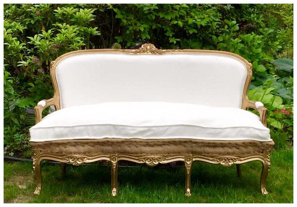 gilt gold & linen sofa.jpg