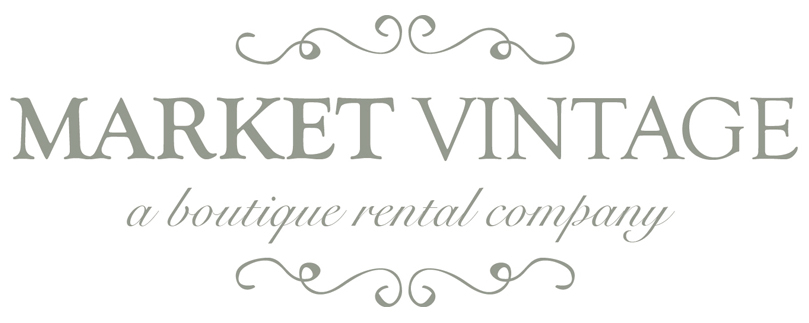 Market Vintage Rentals, Rent Vintage Furniture on Long Island for Weddings & Events