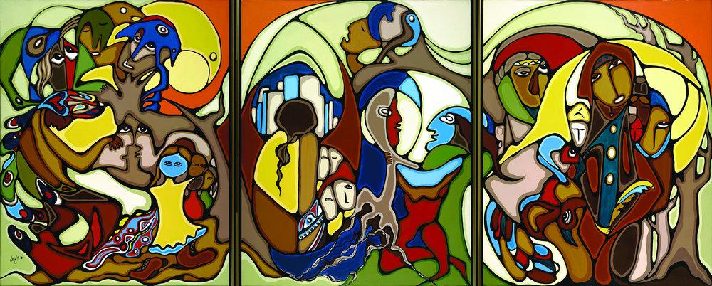 Daphne Odjig, Roots , 1979