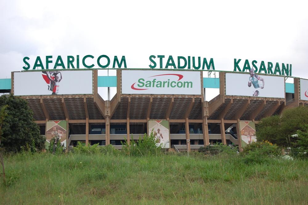Kasarani Stadium...