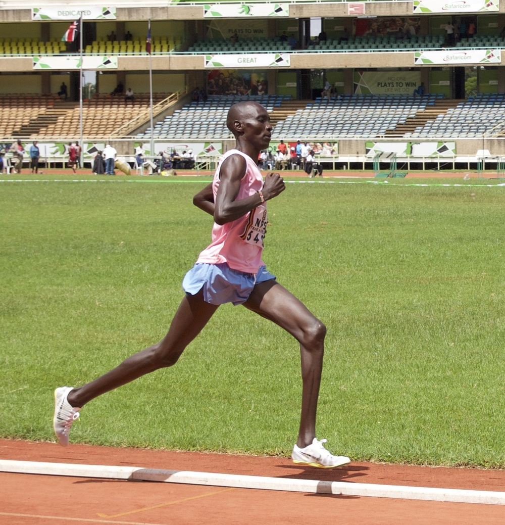 Asbel in Action 800 meter semi Kasarani.jpg