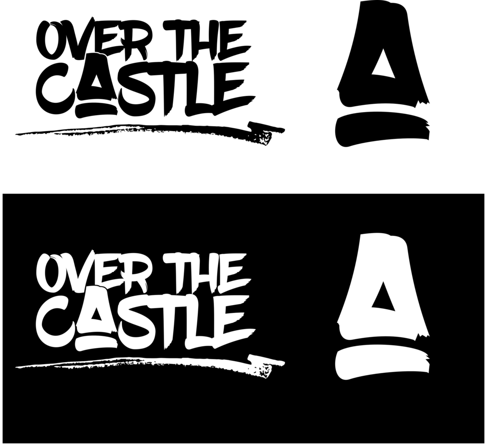 Re-branding I did for a local band. You can find them at www.overthecastle.com