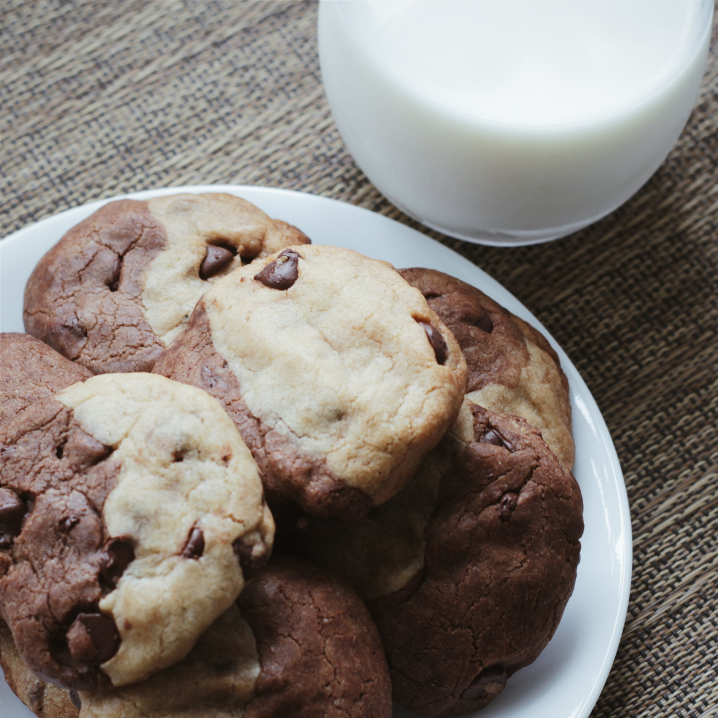 Chocolate chocolate chip cookies vs chocolate chip cookies